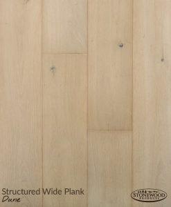 Wide Plank Engineered Flooring, Structured Dune by Sawyer Mason
