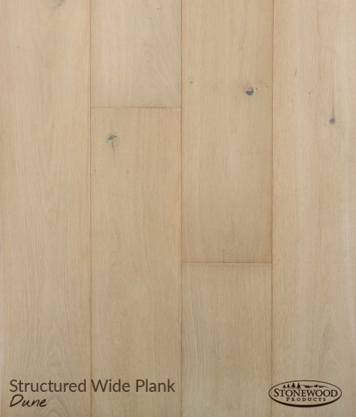 Wide Plank Engineered Flooring, Structured Dune by Sawyer Mason