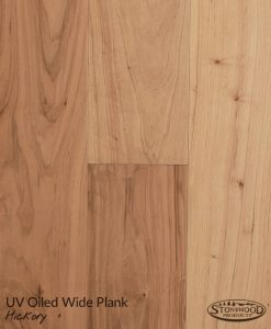 Engineered Wide Plank Flooring Hickory