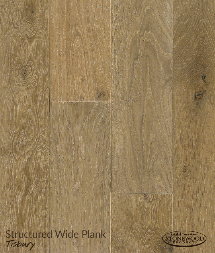 Wide Plank Wood Flooring, Tisbury by Structured Floors