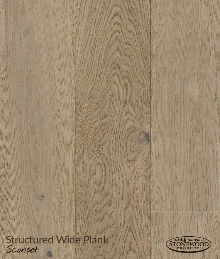 Wide Plank Wood Floors, Sconset Structured Flooring by Sawyer Mason