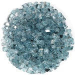 Azuria fire glass half inch