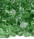 fire glass evergreen reflective