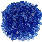 fireglass cobalt blue reflective
