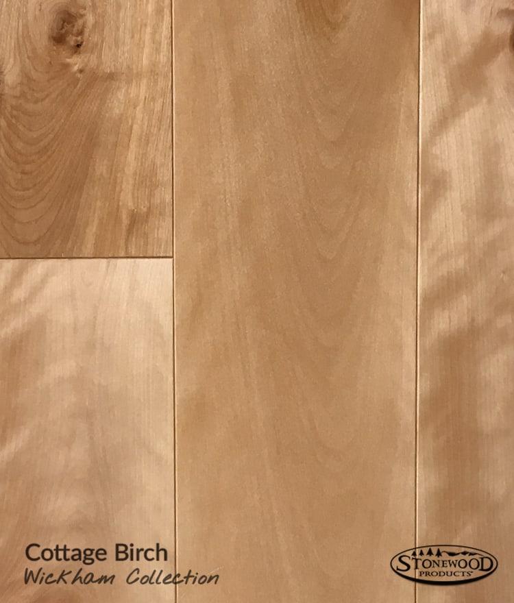 Hardwood Prefinished Flooring Part - 37: Prefinished Wickham Cottage Birch Hardwood Flooring