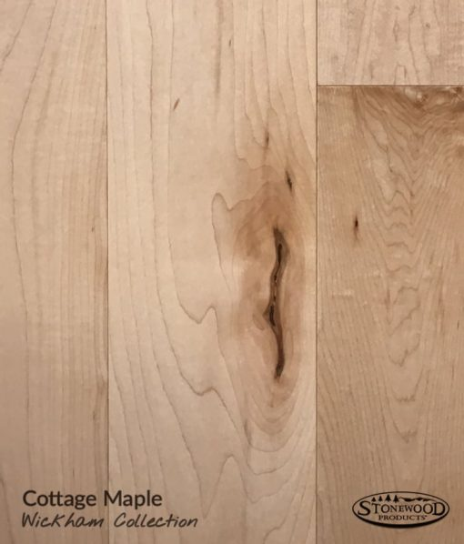 Prefinished Cottage Maple - Wickham Collection