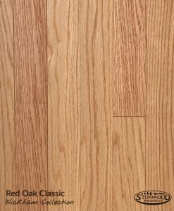 Wickham Prefinished Red Oak, Clear, Domestic Floor