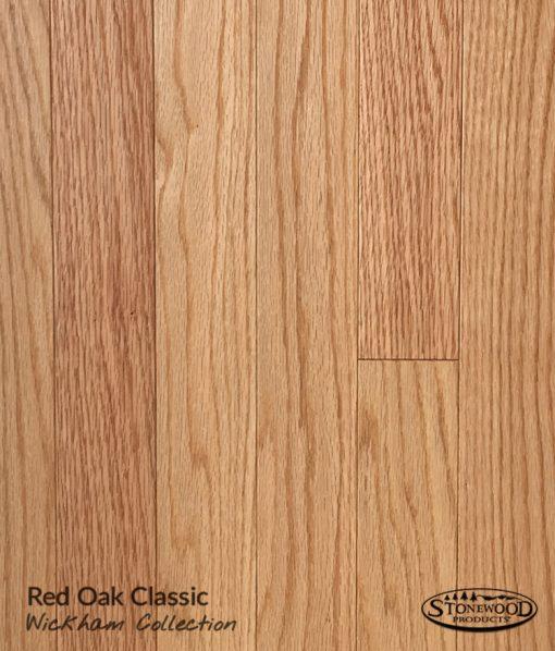 Wickham Prefinished Red Oak, Clear, Domestic Floor