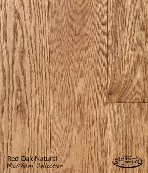 Red Oak Prefinished Flooring - Natural