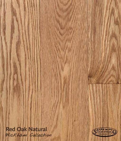 Red Oak Prefinished Flooring - Natural
