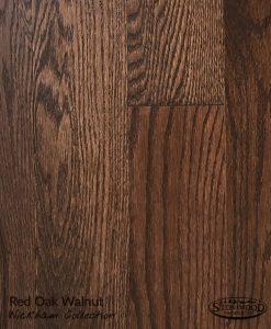 Prefinished Red Oak Hardwood Floor Wickham Collection Walnut