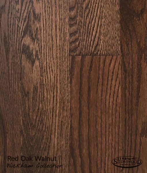 Prefinished Red Oak Hardwood Floor Wickham Collection Walnut