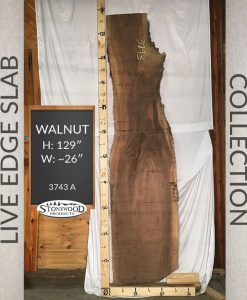 Natural Edge Slab - Walnut