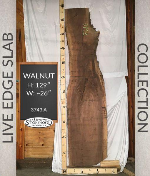 Natural Edge Slab - Walnut