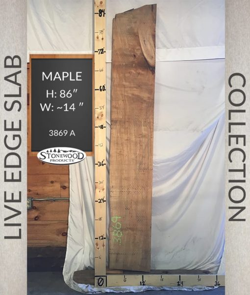maple live edge slab