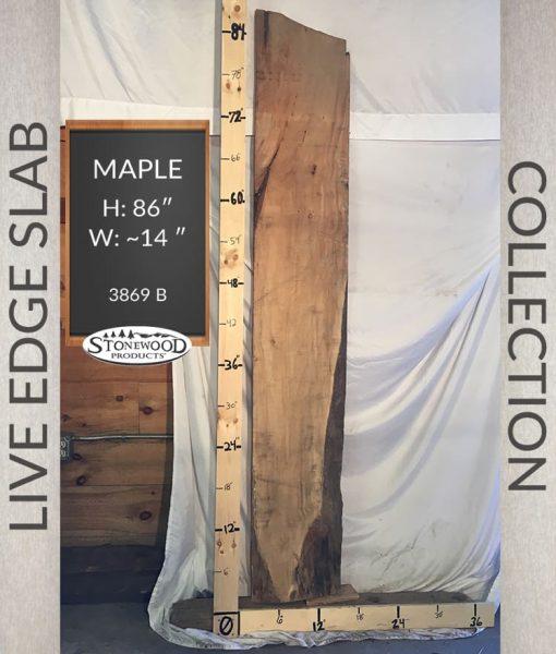 maple live edge wood