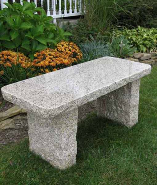 granite-bench-in-garden