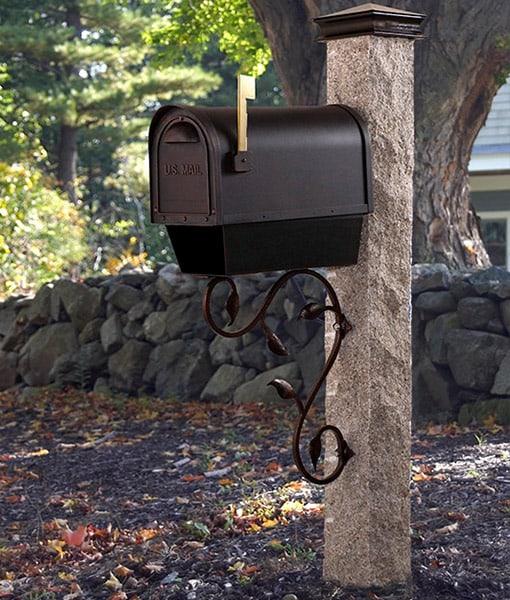 Granite Mailbox Garden Accents