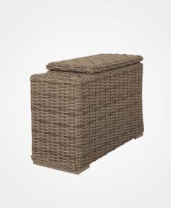Laurent Storage Armrest Section - Ebel Outdoor Furniture