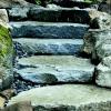 North Mountain Granite Steps