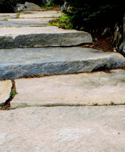 granite scargo hill steps