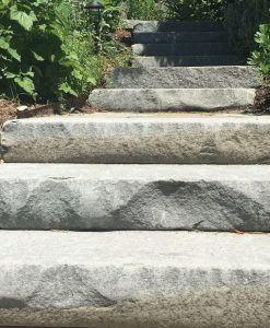 tumbled bluestone steps