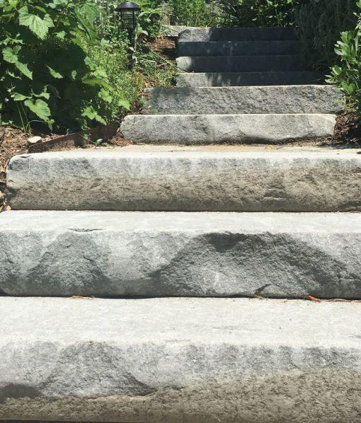 tumbled bluestone steps