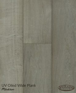 Grey Engineered Wood Flooring - Madison by Sawyer Mason