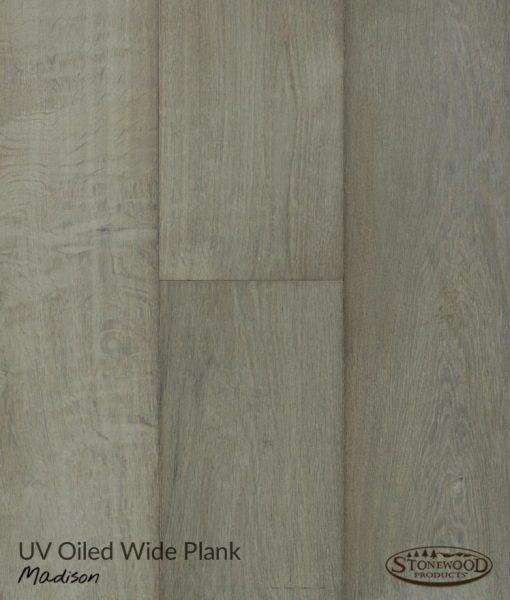 Grey Engineered Wood Flooring - Madison by Sawyer Mason