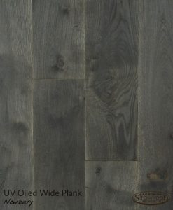 Structured Dark Wood Floor - Newbury by Sawyer Mason
