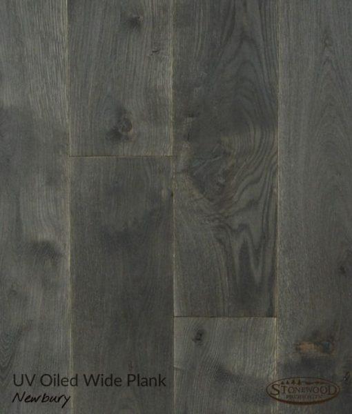 Structured Dark Wood Floor - Newbury by Sawyer Mason