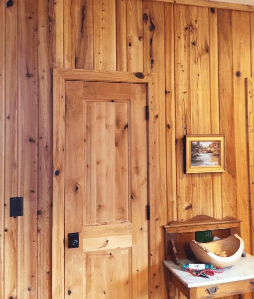Tidewater Red Cypress Wallboarding - Wood Walls