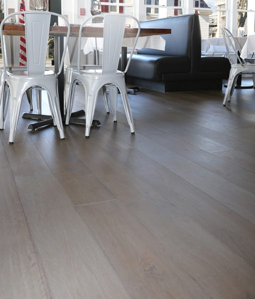 engineered grey floor