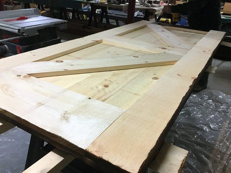 DIY Barn Door Construction