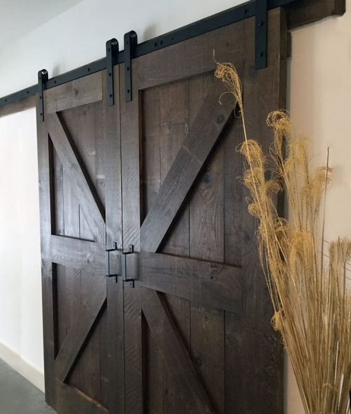 Tutorial Diy Barn Door Stonewood Products La Casa Design Studio