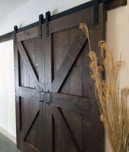 Completed DIY Barn Door