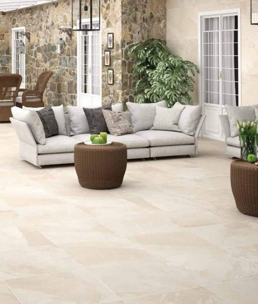 Cayman Tan Porcelain Pavers