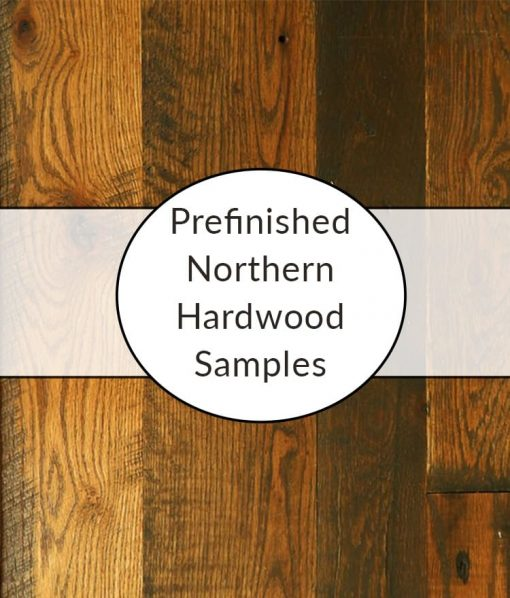 prefinished uv northern hardwood flooring samples