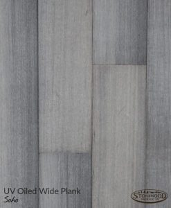 Wide Wood Plank Flooring -Grey Rift Oak, Soho