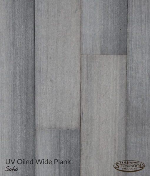 Wide Wood Plank Flooring -Grey Rift Oak, Soho