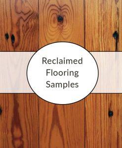 reclaimed pine oak flooring samples