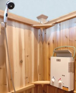 tankless water heater portable outdoor shower Chatham