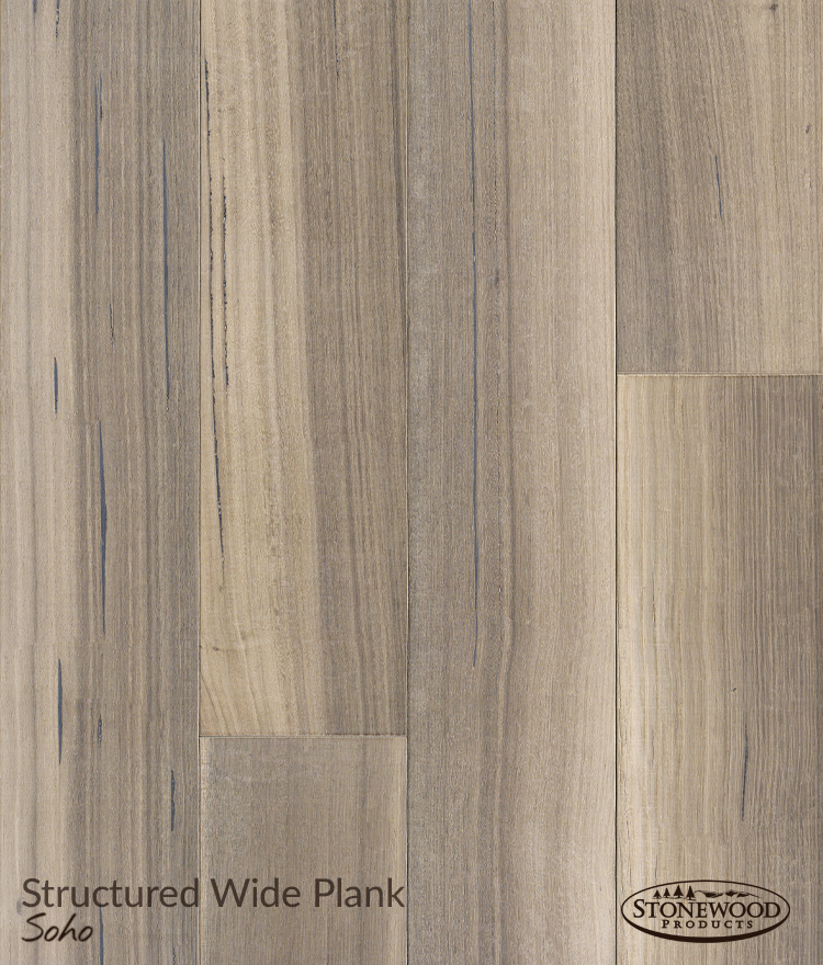 Wide Wood Plank Flooring Structured Rift Oak Soho