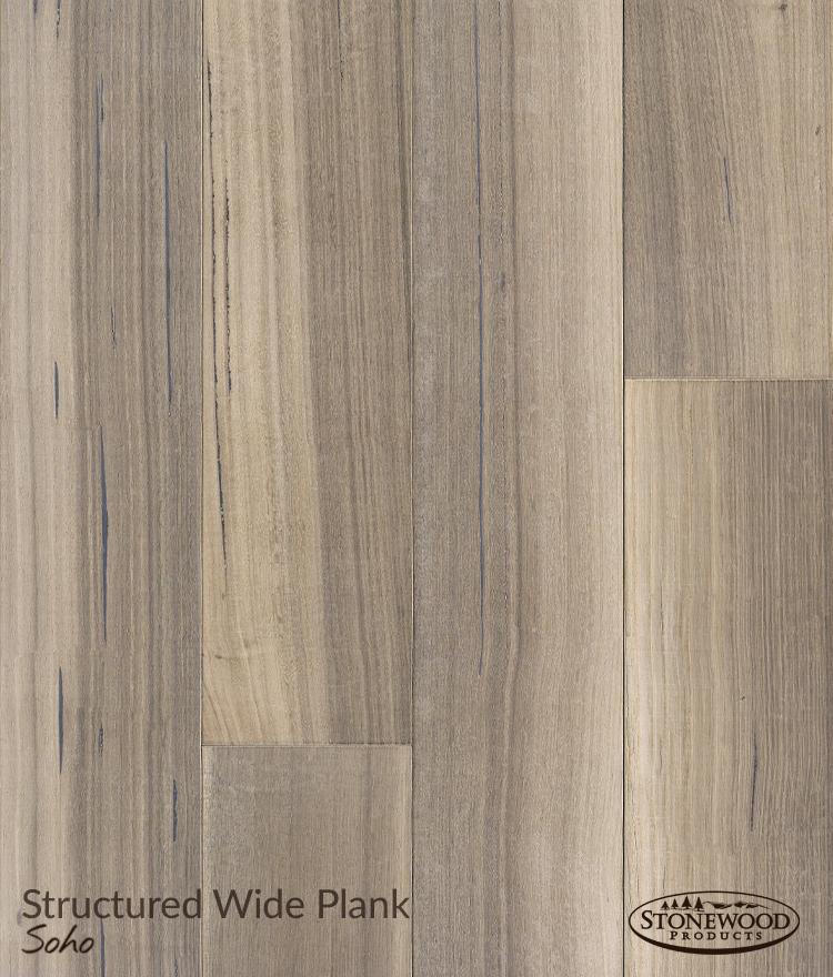 Wide Wood Plank Flooring, Structured Rift Oak Soho