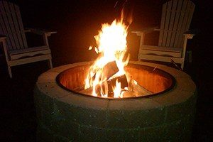 Wood Burning Cape Cod Fire Pit