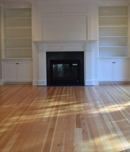 Mixed Grain Fir Floors - Shown with finish