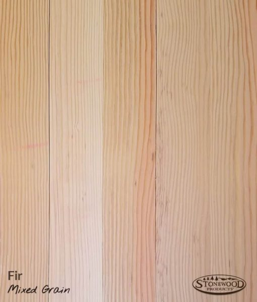 Fir Floors - Mixed Grain - Unfinished Swatch