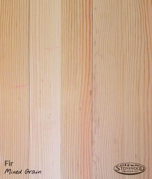 Fir Floors - Mixed Grain - Unfinished Swatch