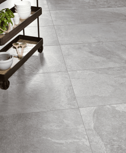 Porcelain Patio Pavers in Anchor Grey