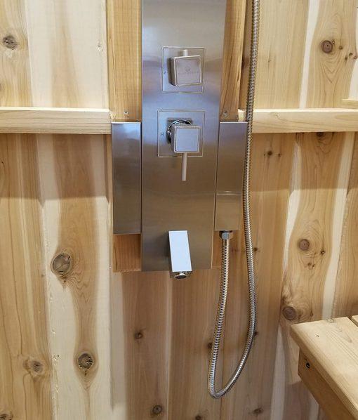 Knob & Temperature Adjustment for Shower Panel